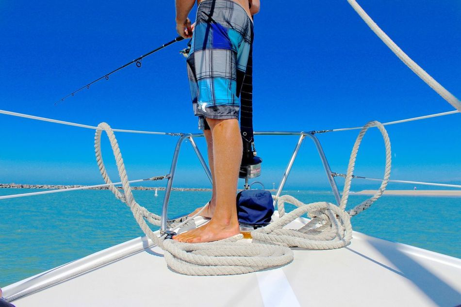 Beautiful stock photos of sailing, Barefoot, Beauty In Nature, Boat, Channel Islands Beach