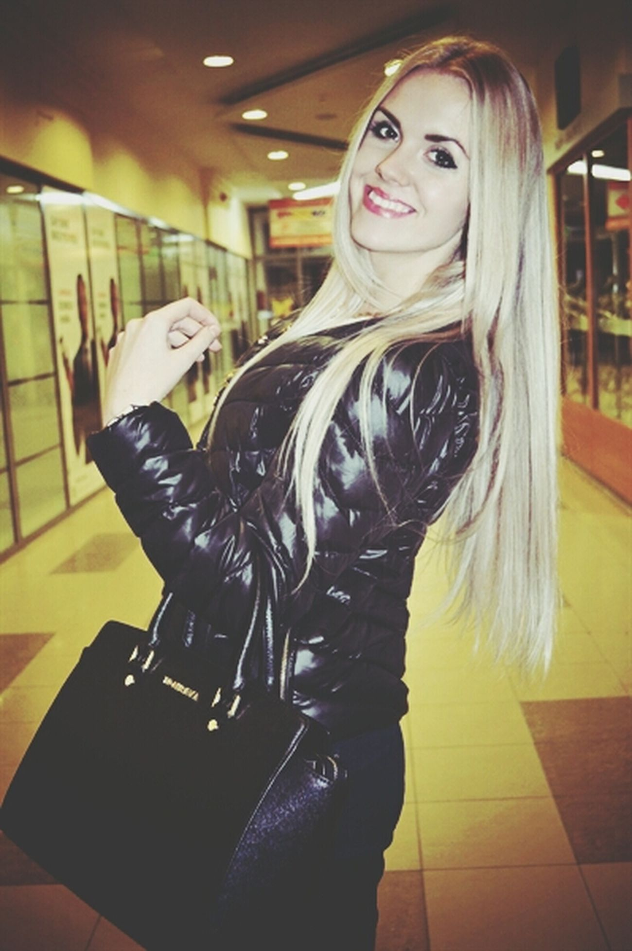 Blonde Girl Ukrainiangirl Model Keep Calm And Always Smile