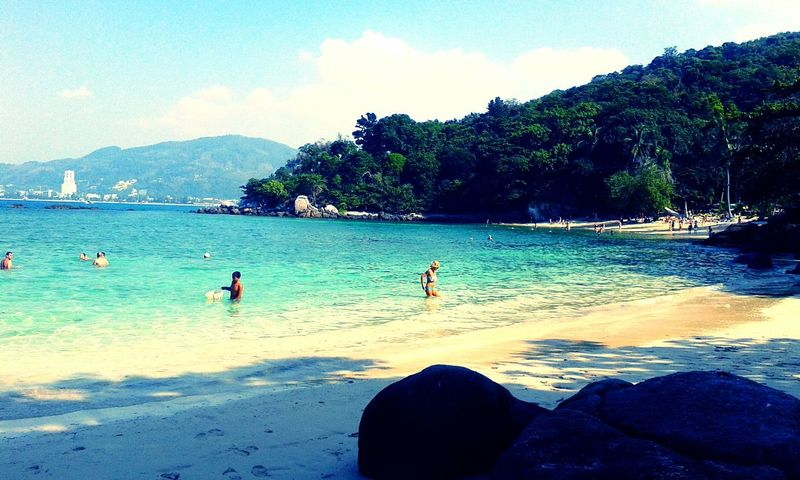 Paradise beach Thailand Thailand Love Paradise Beach Patong Phuket Beach Beautiful Colors Relaxing Time Love Picture Amazingcolors Water Happy Time Relaxing Moments Sun Sunrise_sunsets_aroundworld ASIA Lastyearmemory