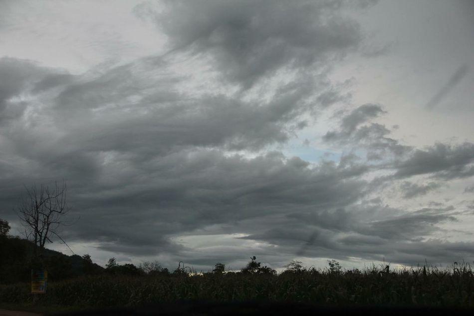 Sky Clouds Clouds And Sky Dark Darksky Cloudy RainIsComing Landscape