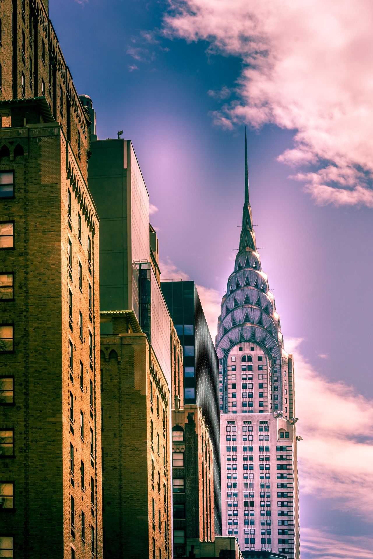 Architecture Building Exterior Built Structure Sky Skyscraper Modern Low Angle View Cloud - Sky Tower Travel Destinations Outdoors City No People Day Illuminated Ladyphotographerofthemonth New York