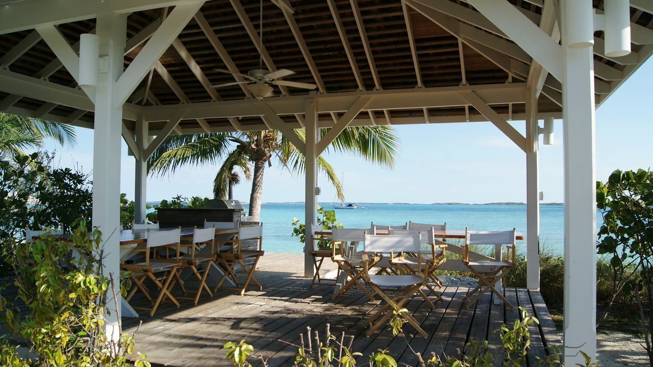 Architecture Sea Built Structure Beach Day Bridge - Man Made Structure Water No People Outdoors Tree Nature Sky Tranquility Scenics Exuma Travel Destinations Tourism Architecture Travel Vacations Luxury Hotel