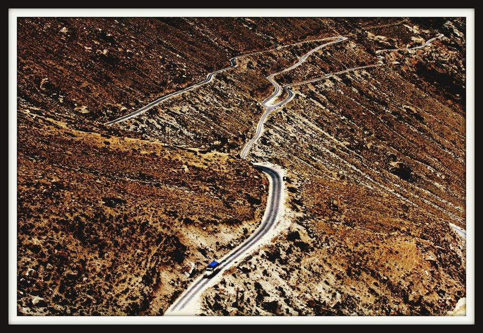 High Angle View Sand Road Outdoors Nature Scenics Beauty In Nature Himalayas Silkroad Silkroute Silkroutejourneys