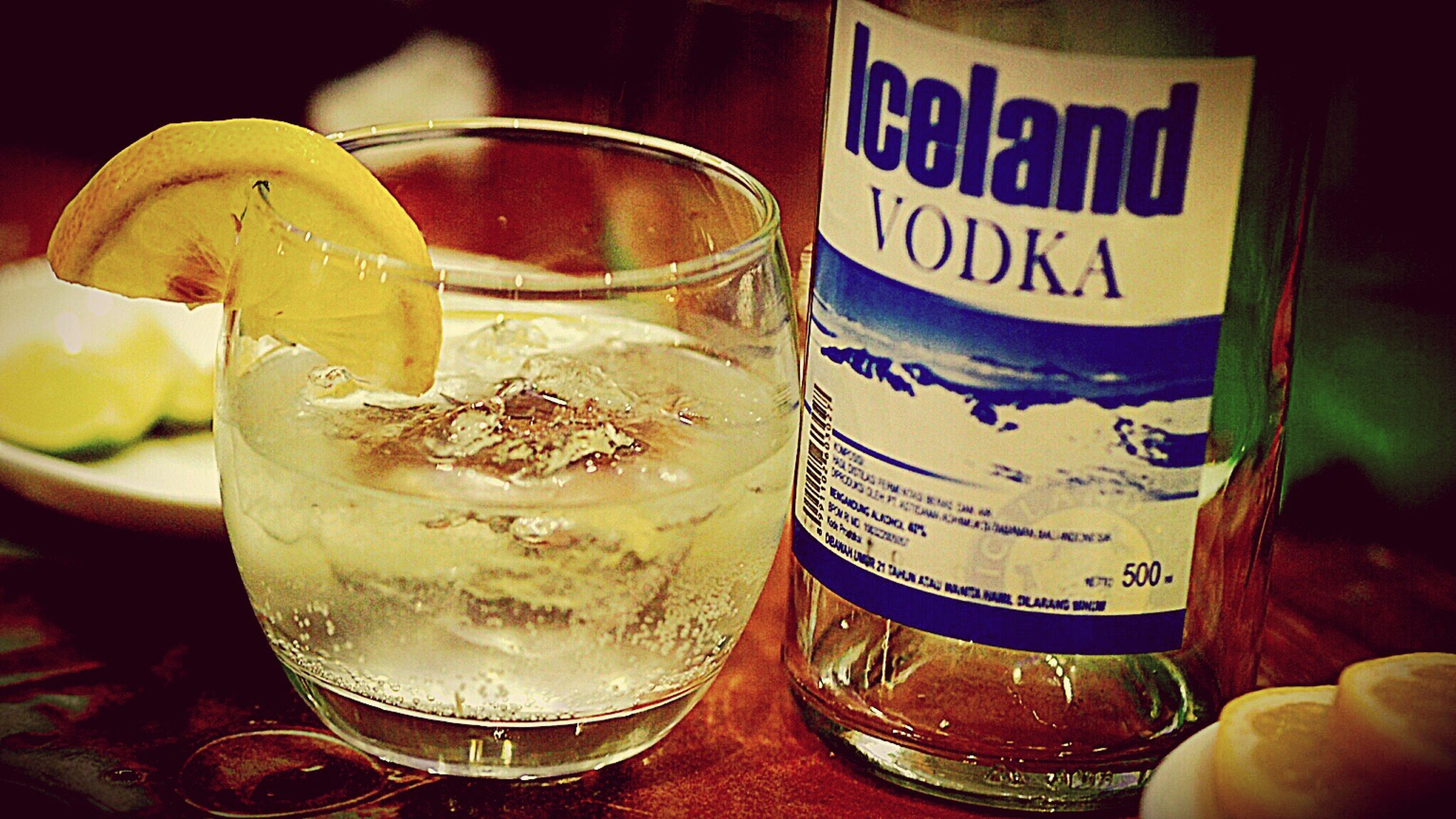 Drink , must try iceland vodka with water gas and lime ....,