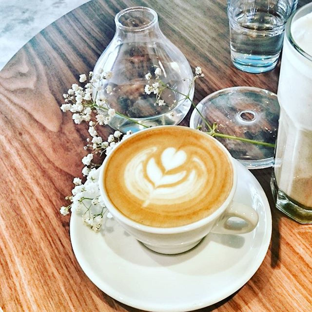 Brewing a cup of coffee without the mug for the second time.....😭 at my abode. My precious liquid...😍 (Pic. 📷 from last visit to Percolatesg Percolatecoffee ~ Cafeyouneed ) Nevertheless, Happy Hump Day all!