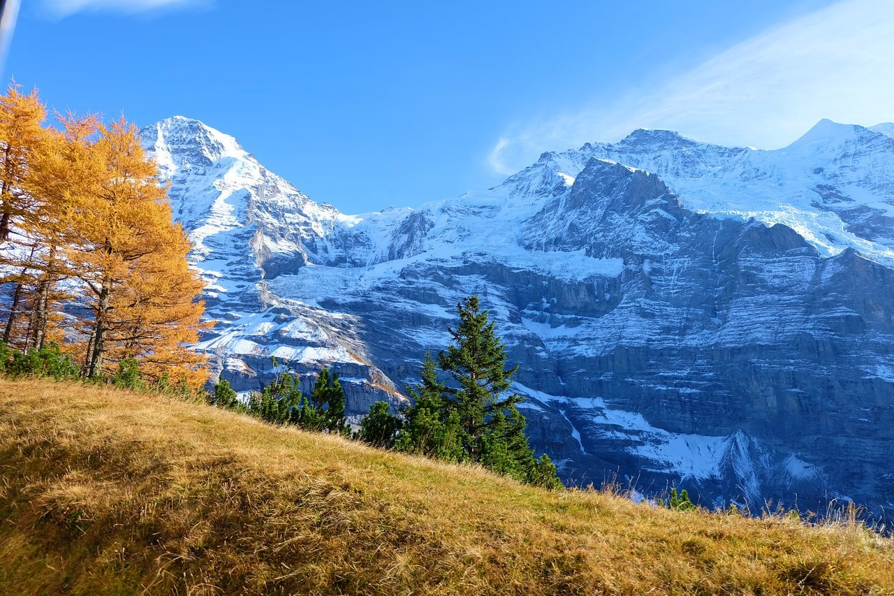 Interlaken Jungfrau Landscape Mountain Nature Sky Switzerland Top Of Europe