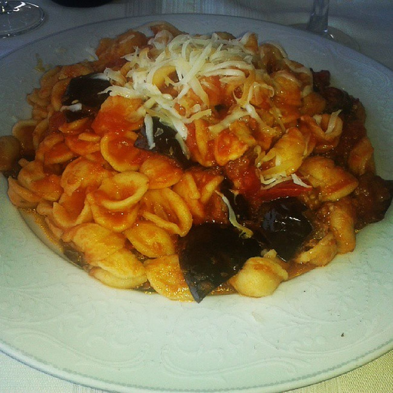Orecchiette Alla Norma Capriccio Piattoni Food Like Enjoy Love Likeforlike Like4like Instagram Followme Follow4follow E Chi Se Le  Mangia Tutte ?!