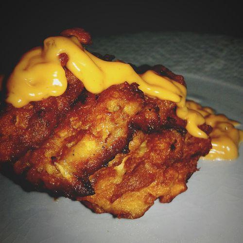 home made tuna nuggets Ready-to-eat Close-up Fried Healthy Eating No Meat Food Yummy♡ Yummy! Yummy Yummyinmytummy Yummy Food