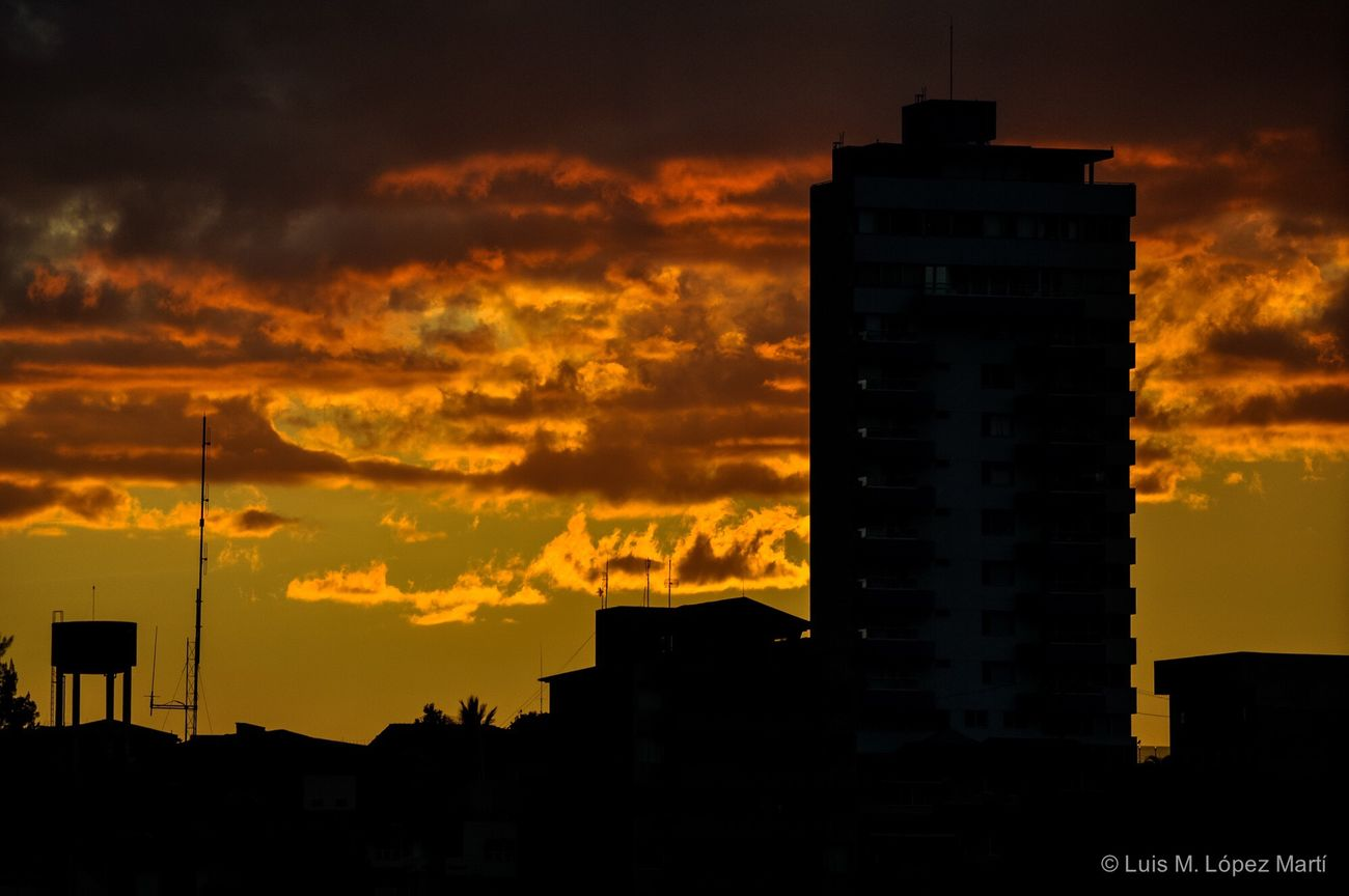 Tegucigalpa, Honduras Sunset Silhouette Beauty In Nature Cloud - Sky Sky Architecture Building Exterior Photography Nikonphotography Nikon Light Light And Shadow Color Colors Colorful Silhouette Silhouettes Skyline Cityscape Cityscapes Golden Hour