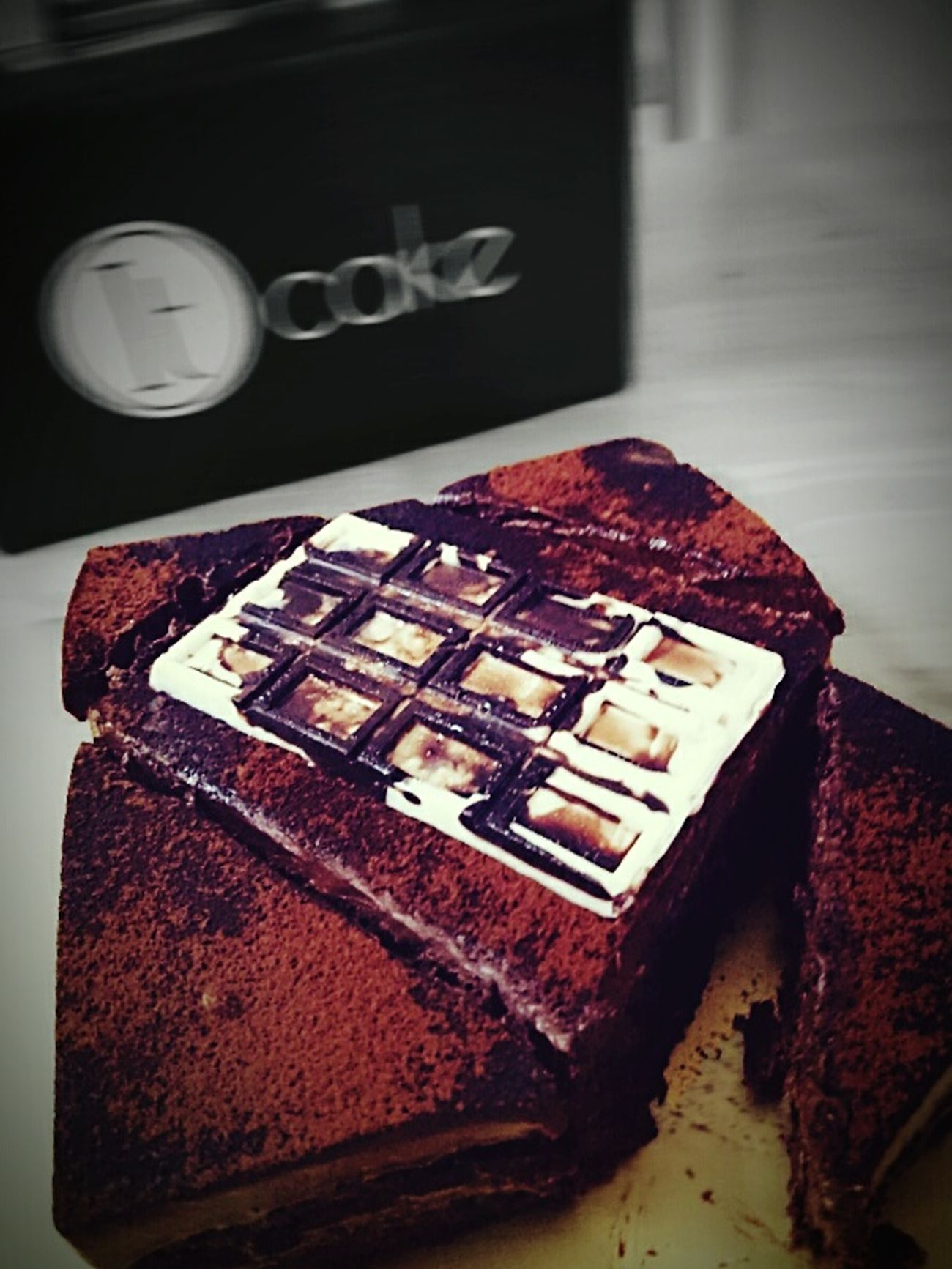 Dessert Delish! Cake♥ Midnight Snack Sweettreat Meltinyourmouth Chocolatelover Foodporn❤️