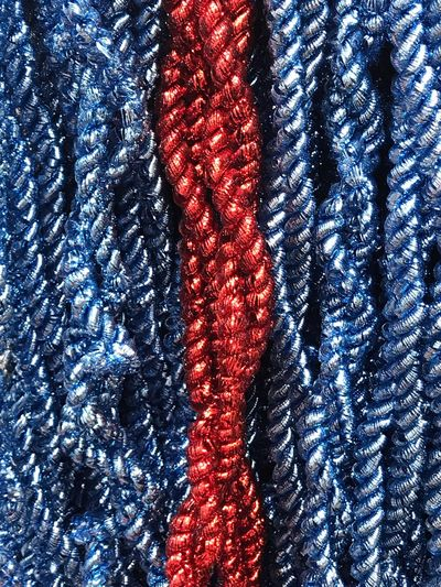Full Frame Backgrounds Pattern Blue Red No People Textile Day Textured  Close-up Indoors  Christmas Decoration First Eyeem Photo