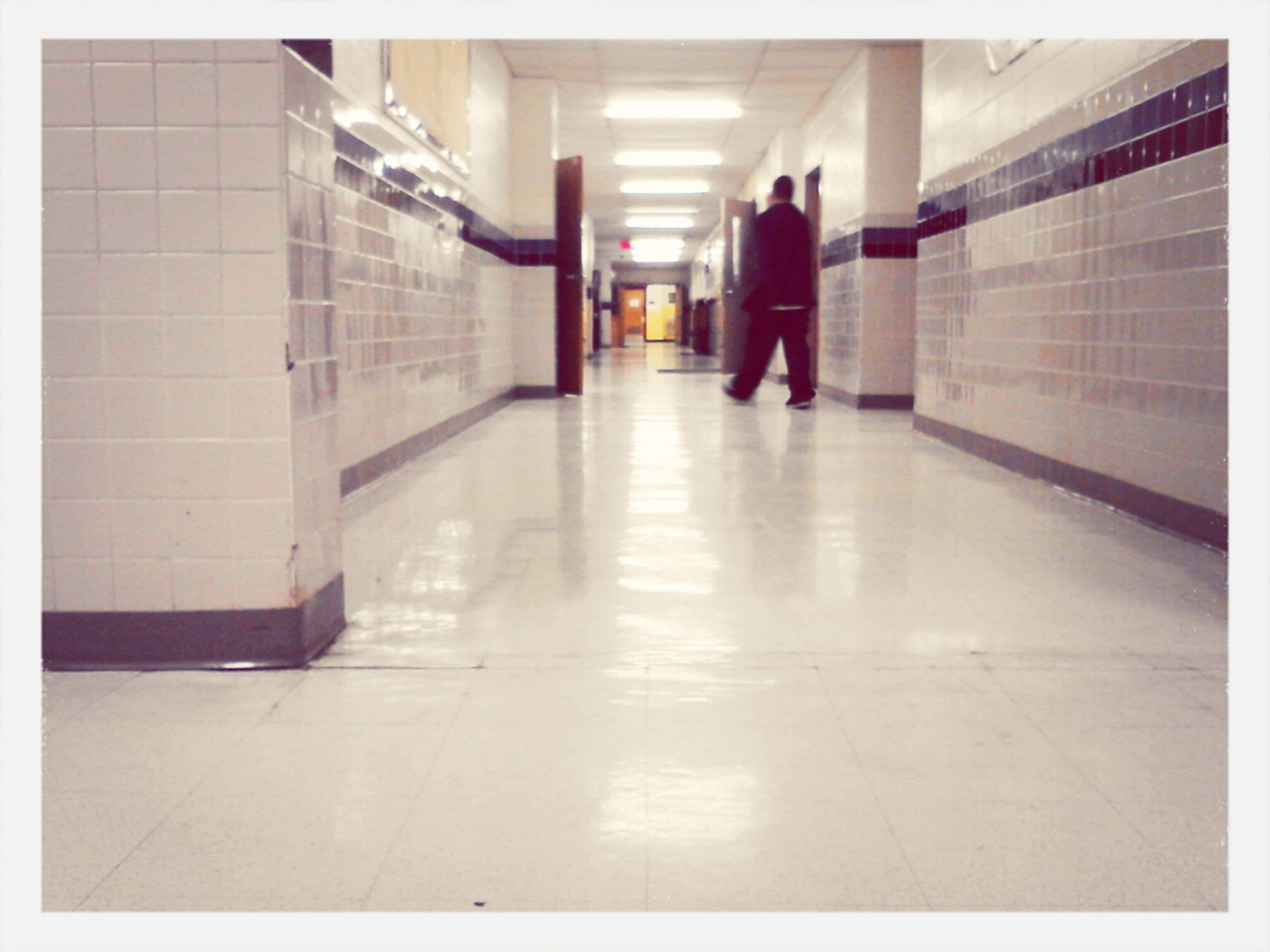 Crisfield Gym Hallway Crisfield High