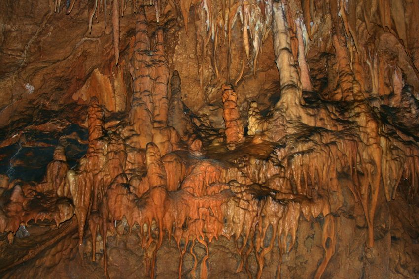 Brown Cave Caves Geology Geometry Large Group Of Objects Natural Pattern Stalactite  Stalactite Cave Stalactites Stalagmite Stalagmite In Cave  Stalagmites