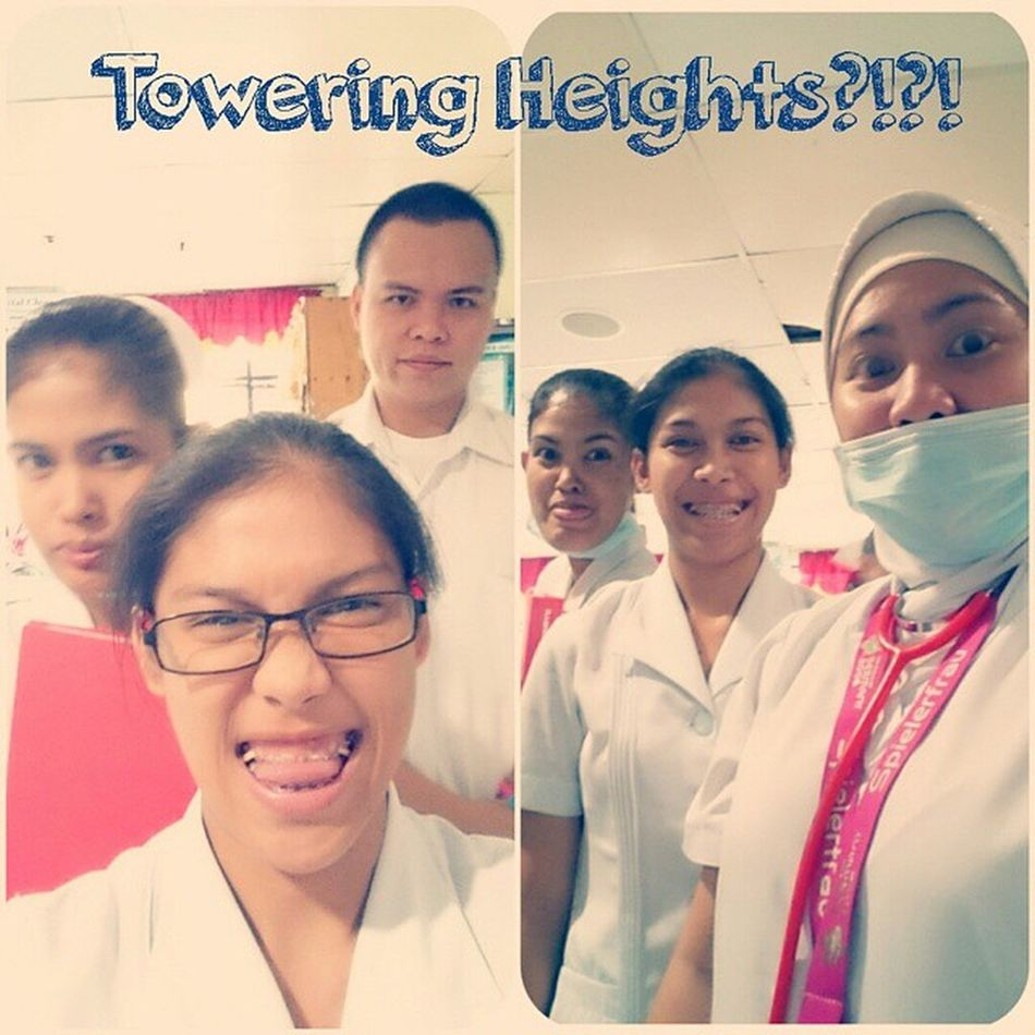 Towering Heights?!?! Master and his apprentices. GoodMornightUniverse HoorayDay Coolfellas MasterRaj INaughty MonsterPoororot Emitthemenace
