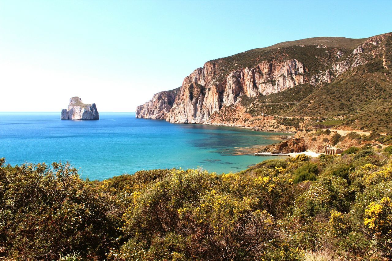 Panoramic Photography Sulcis Italy🇮🇹 Canon1300d VistaMare Sardinia Landscape Nature Masua Day Pandizucchero Travel Destinations Beach Vacations Beauty Blue Clear Sky Beauty In Nature Sea Nature Sky No People Rock - Object Scenics Cliff Live For The Story