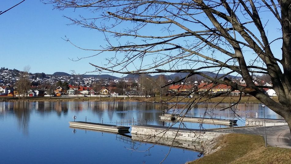 Building Exterior Day No People Noruega Norway Outdoors Skien Tree Water