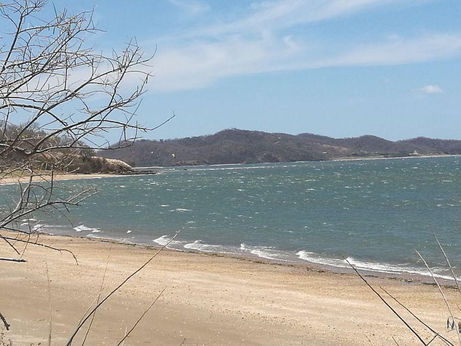 Playa Papaturro, Bahía Salinas, Beach Sand Outdoors Nature Beauty In Nature Day Tranquility Vacations Sky Guanacaste  Pura Vida ✌ Guanacaste  Nature Costa Rica Water Sea Mountain No People Scenics Landscape