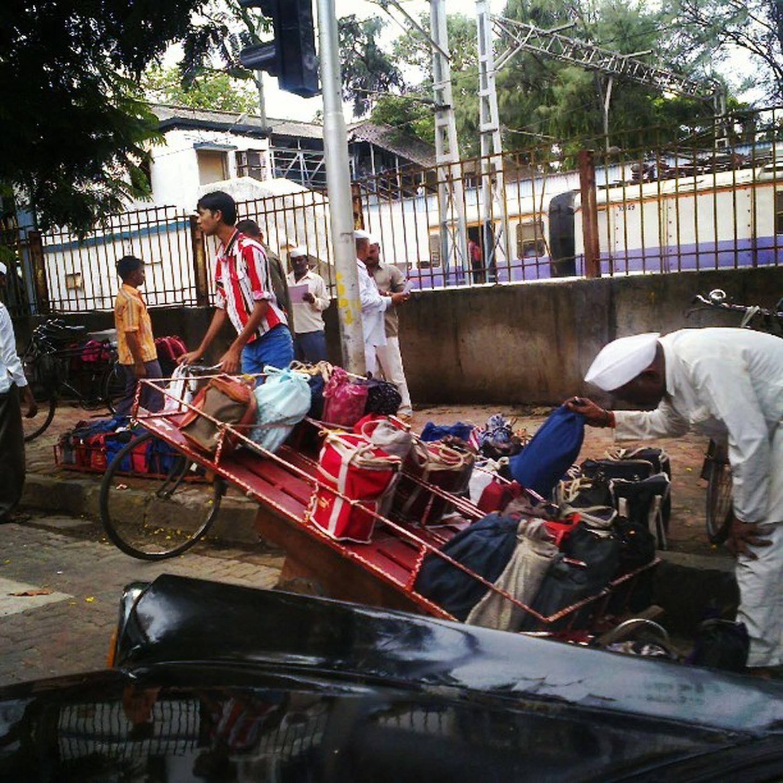 Mumbai's Efficient Dhabbawala Cab Fiat Travel India