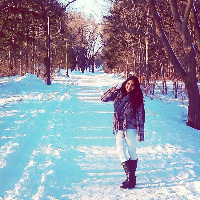 Snow Winter Wonderland That's Me Smile