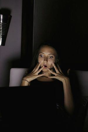 Shocked Shocked Face Scared Surprised Laptoplife Emotional Photography Reaction Shocking News