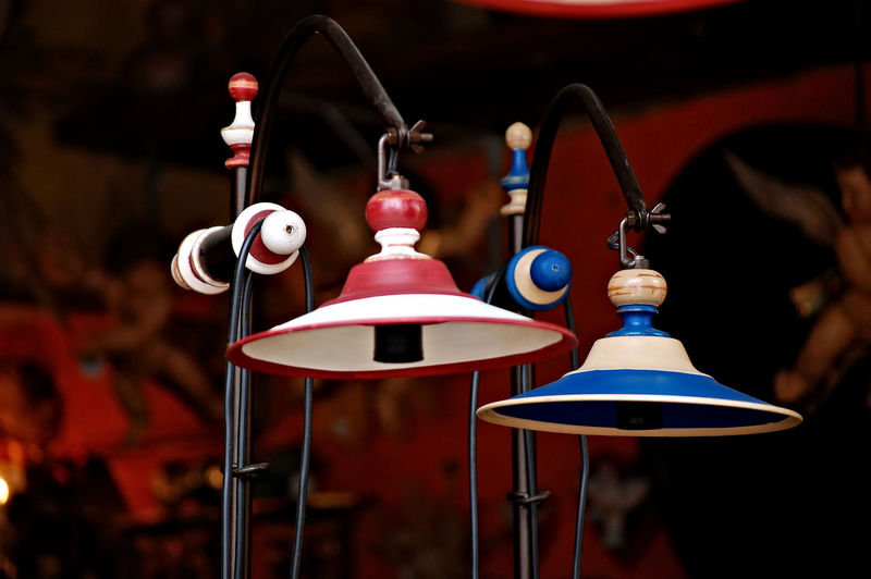 Arts Culture And Entertainment Close-up Day Focus On Foreground Indoors  Lamp Stand Music No People Shop