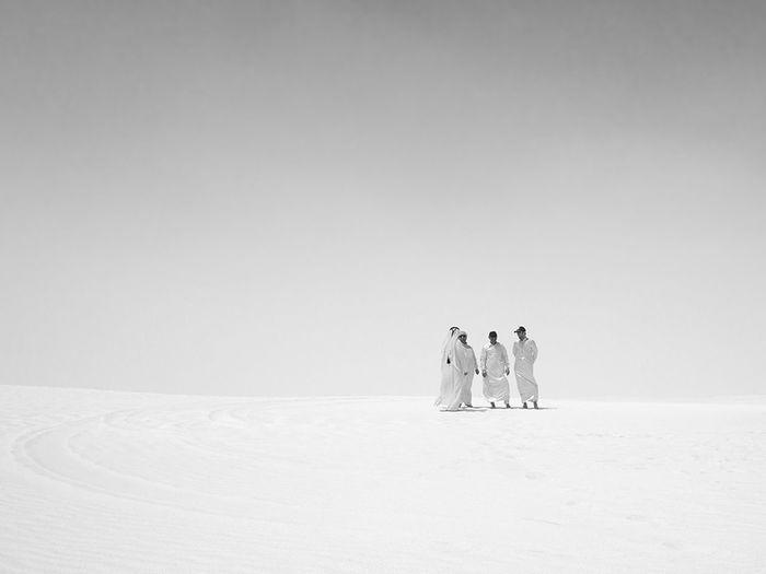 Desert Doha Deserted Scapes Dune Bashing