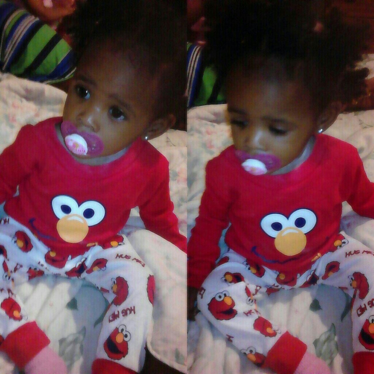 My Lil Shawty . Pjs , Elmo (: