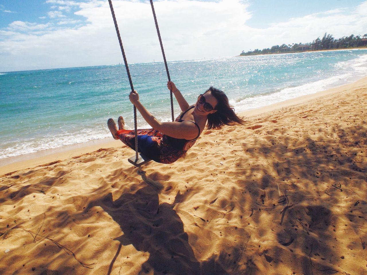 Beautiful stock photos of tropical, Beach, Carefree, Idyllic, Kapa'a