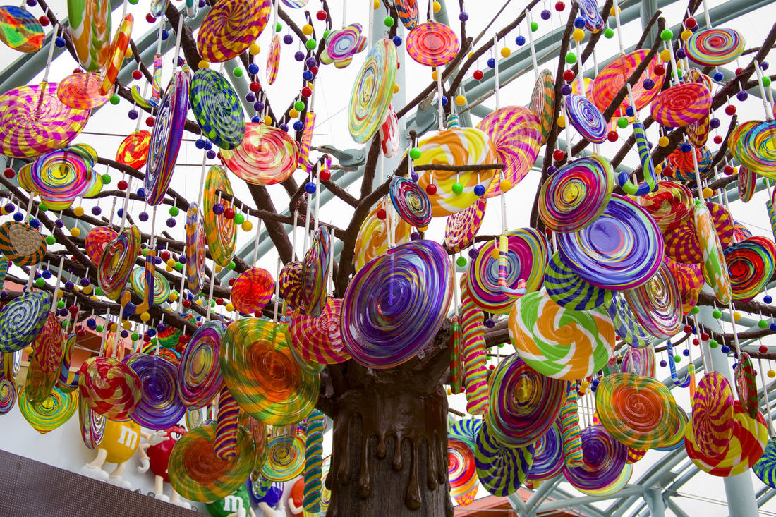 Abundance Candy Candy Tree Candys Choice Close-up Colorful Day Food For Sale Large Group Of Objects Low Angle View Multi Colored Multicolored No People Outdoors Retail  Sweet Sweet Food Unhealthy Eating Variation