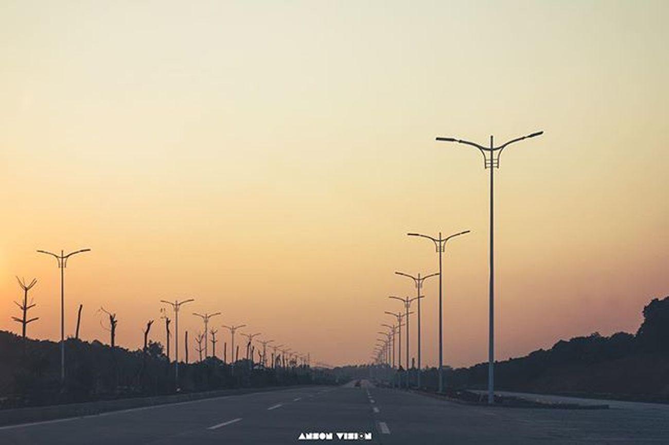 太阳下山了 回家吧 - 茂名 色彩 市民公园 Rx100