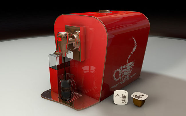 C4d CINEMA4D Close-up Coffee Coffeemachine Hotcoffee Man Made Object Modelling Modern No People Object Red