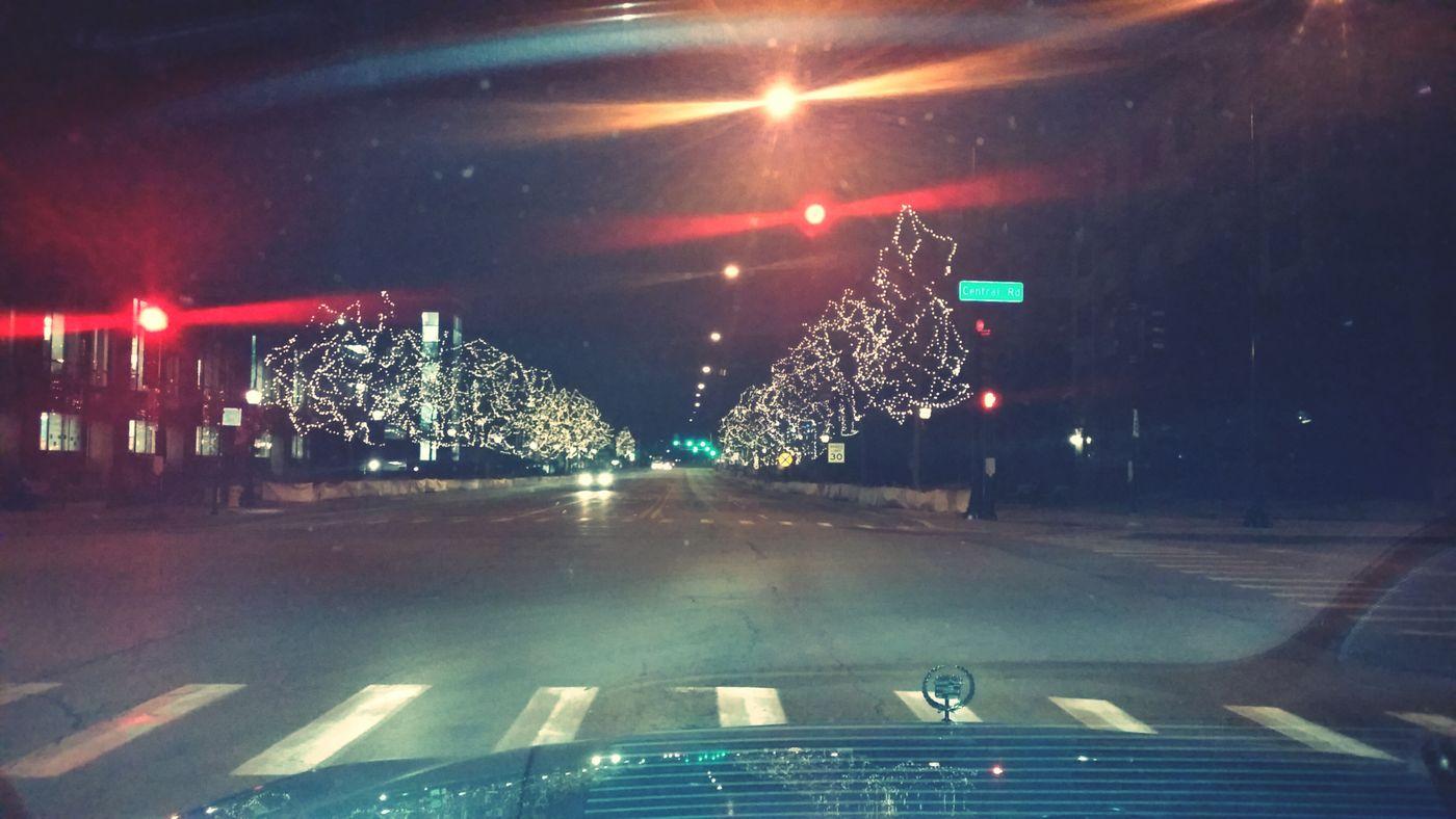 Driving Home Christmas Chistmas Lights Beautiful