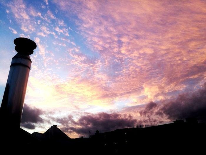 Sunset Architecture Cloud - Sky Sky Built Structure Silhouette Building Exterior