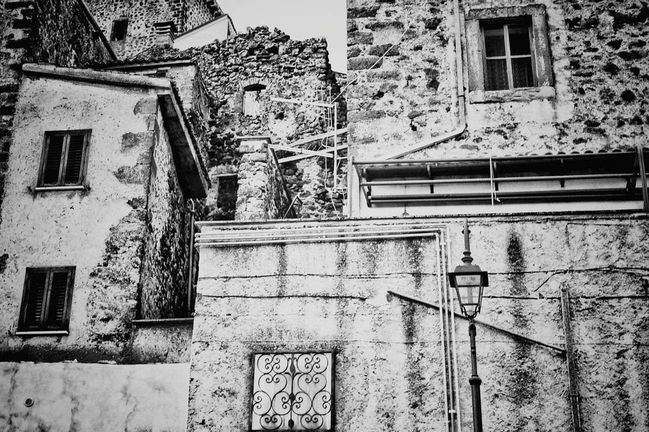 Architecture Built Structure Building Exterior Low Angle View Outdoors No People Fire Escape Simmetry Simmetrical Building Simmetrical Black And White Still Life Monochrome Photography Italy🇮🇹 The Street Photographer - 2016 EyeEm Awards The Week On EyeEm Day