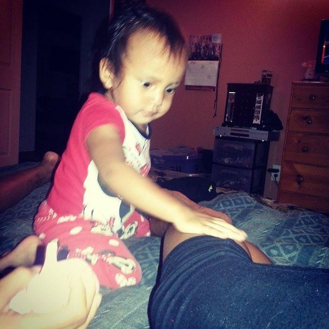 Already putting her to work just kidding Littlesister ZanaBana