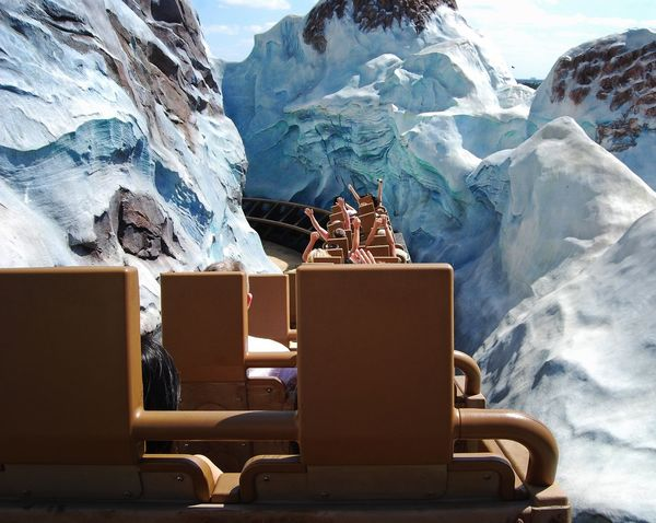Disney World Rollercoaster Vacations Amusement Park Amusement Park Ride Day Glacial Ice Mountain Mountain Range Nature Outdoors Scenics Sky Snow Snowcapped Mountain Water