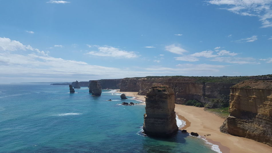 Amazing view! 12 Apostles Amazing Coastline Awesome_view Beauty In Nature Coastline Great Views Tranquility Turquoise Sea Victoria First Eyeem Photo