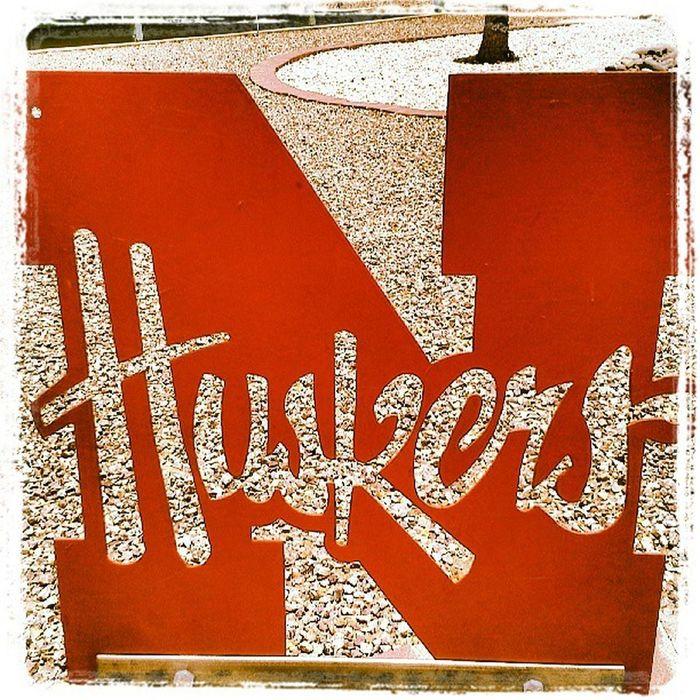 Signage Sign Nebraska Cornhuskers Huskers
