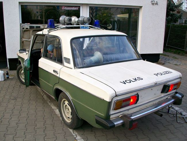 Abvimas Car DDR DDR Grenze DDR Time Deutschland East Germany Eye4photography  EyeEm Best Edits EyeEm Best Shots EyeEm Gallery Germany Hi! Historic History LADA Land Vehicle Outdoors Parked Parking Police Policecar Street Transportation Volkspolizei