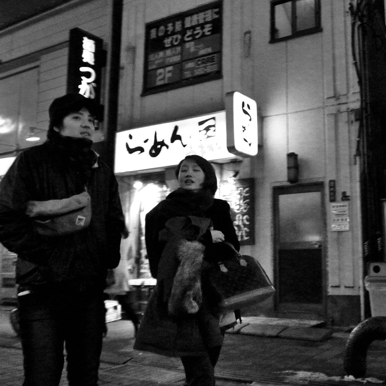 Street City Lights On The Road City Street Winter City Life Peoplephotography Snapshots Of Life People Nightphotography Night Streetphoto_bw Snapshot Streetphotography_bw Blur B&w Street Photography Shinagawa 品川 Tokyo