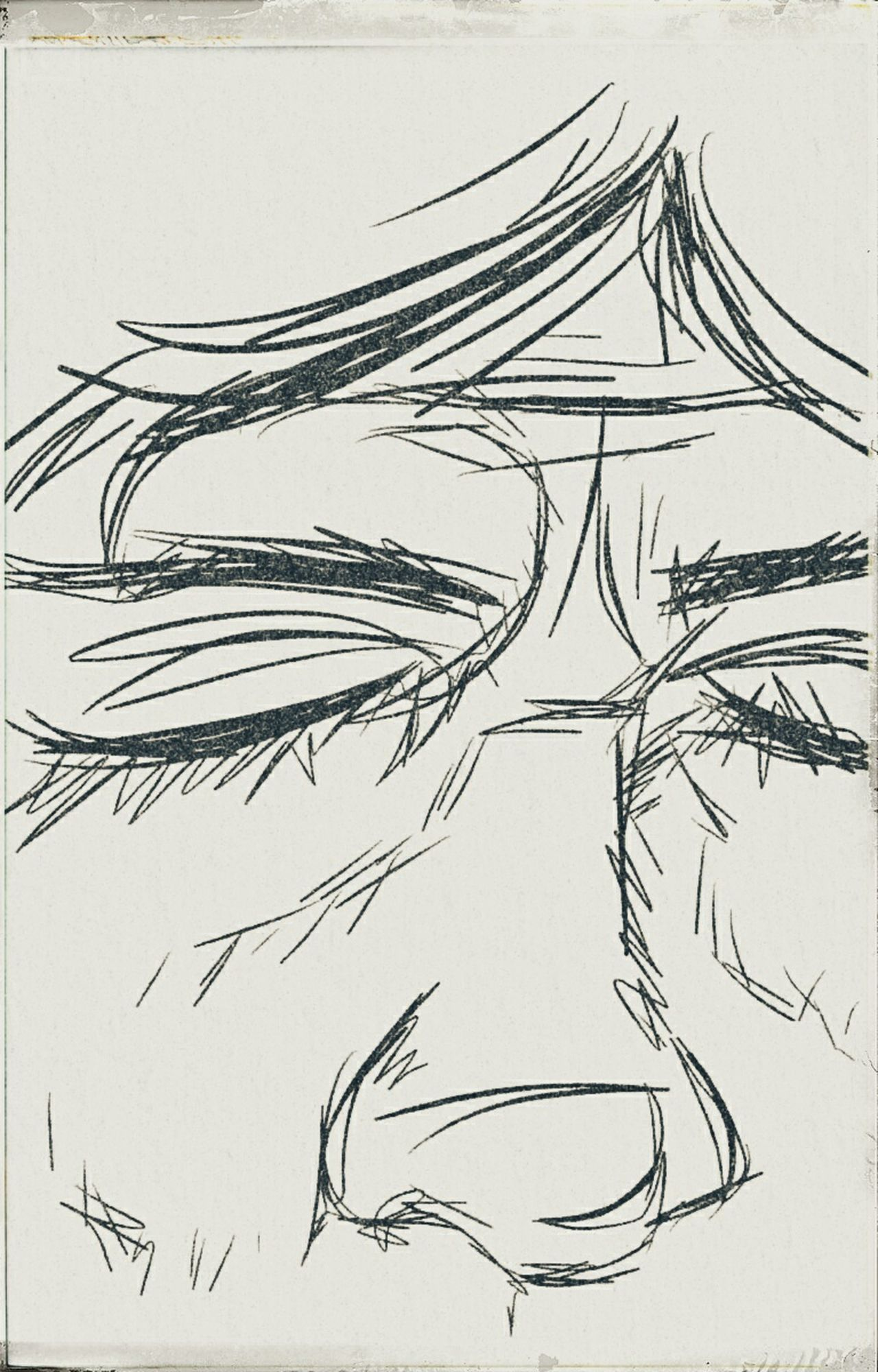 ปวดใจดังไฟสุมทรวงทะลวงอกฉัน.... Alone Time Sketch Industry Food No People Wheat Lineart Sketch Art