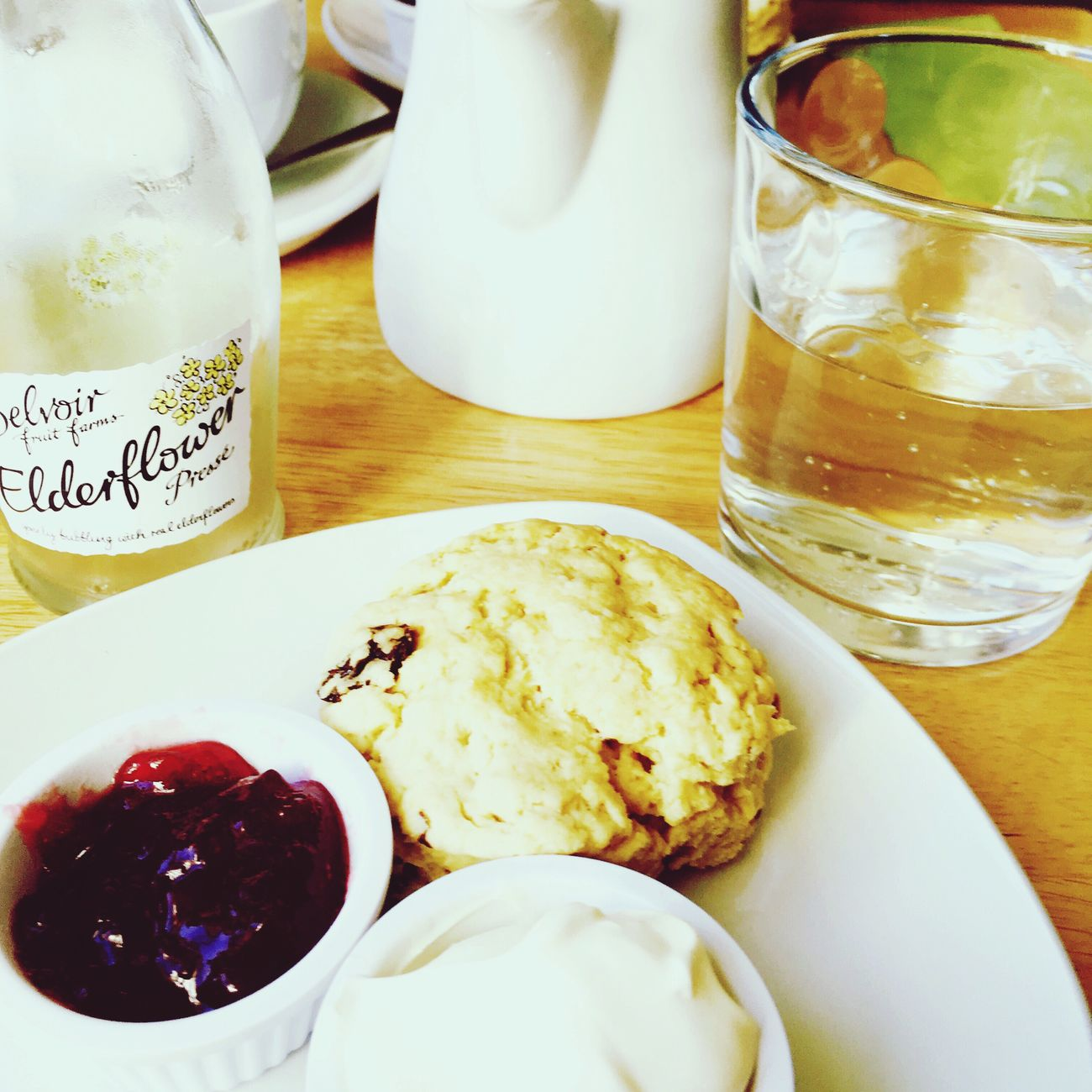 Scones Cafe Lavenderfarm Elderflower Tea EyeEmNewHere EyeEmNewHere