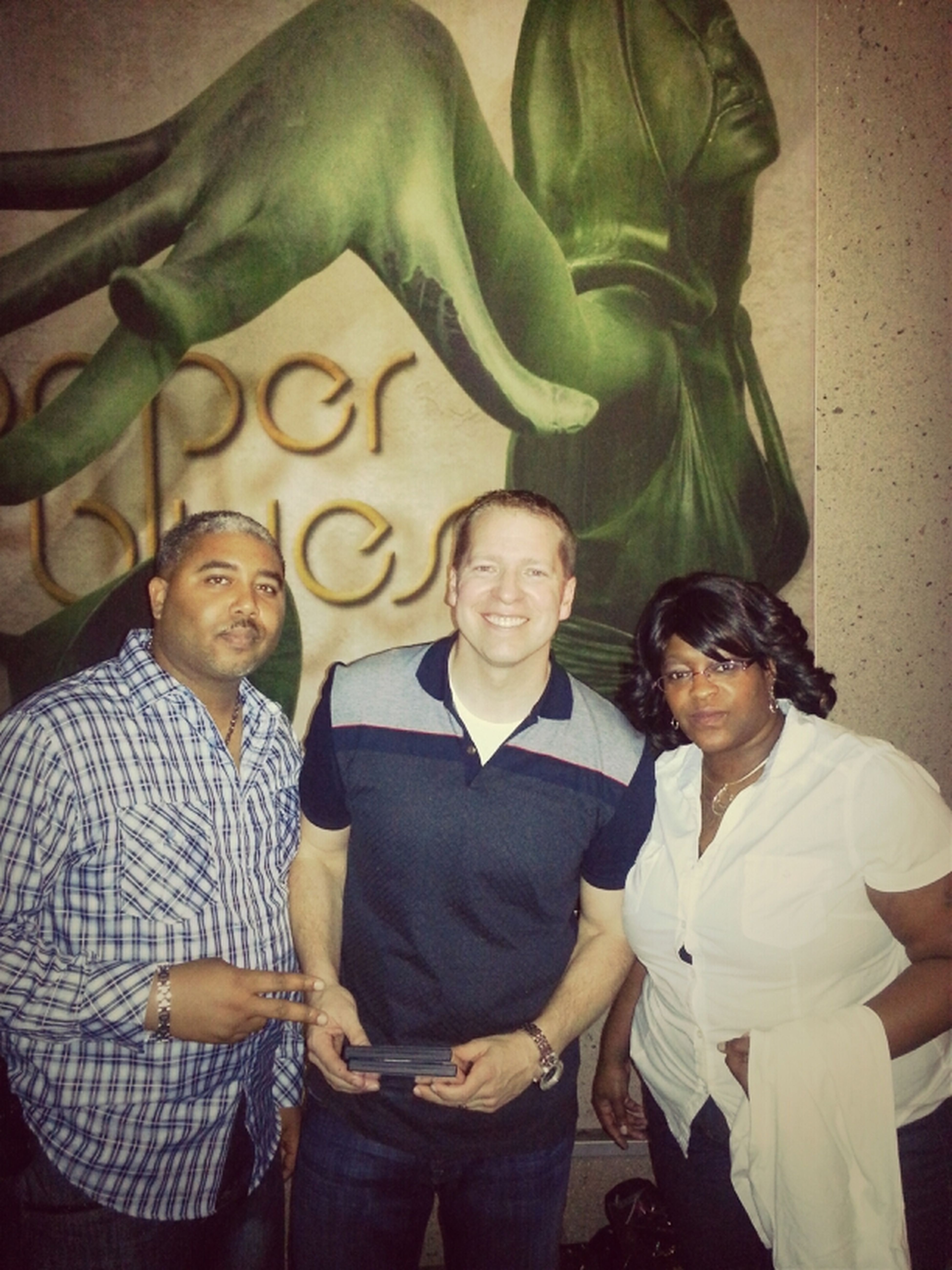 That's Me And My Baby With Gary Owens Last Sat Night.