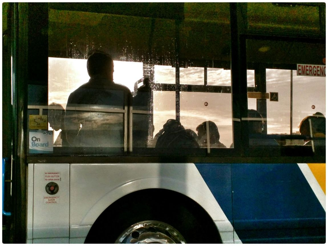 Silhouette The View From Here Public Transportation Taking Photos Enjoying The Light 2015 04 22
