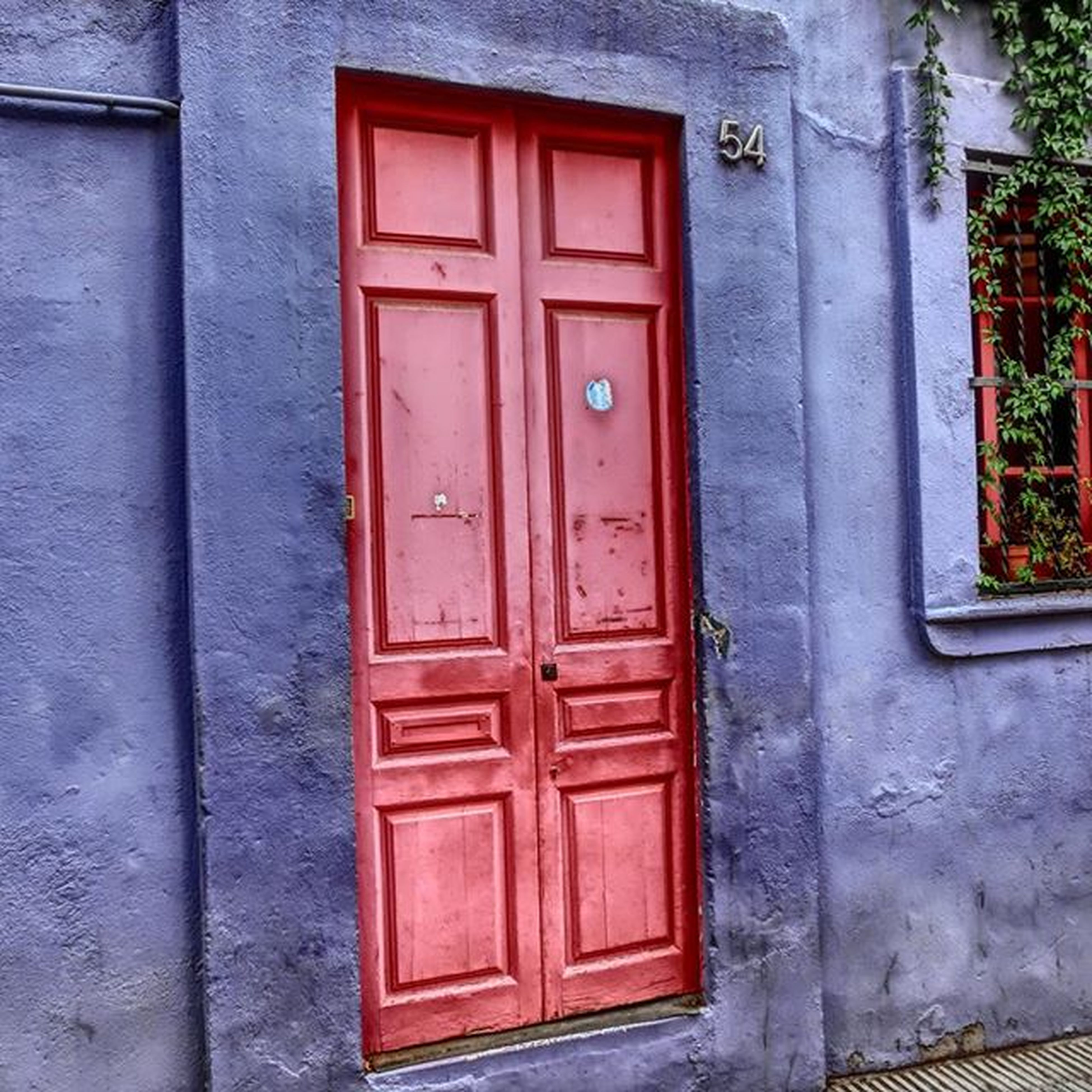 door, closed, building exterior, built structure, architecture, safety, protection, red, security, house, entrance, window, wood - material, outdoors, residential structure, day, wall - building feature, old, wooden, closed door