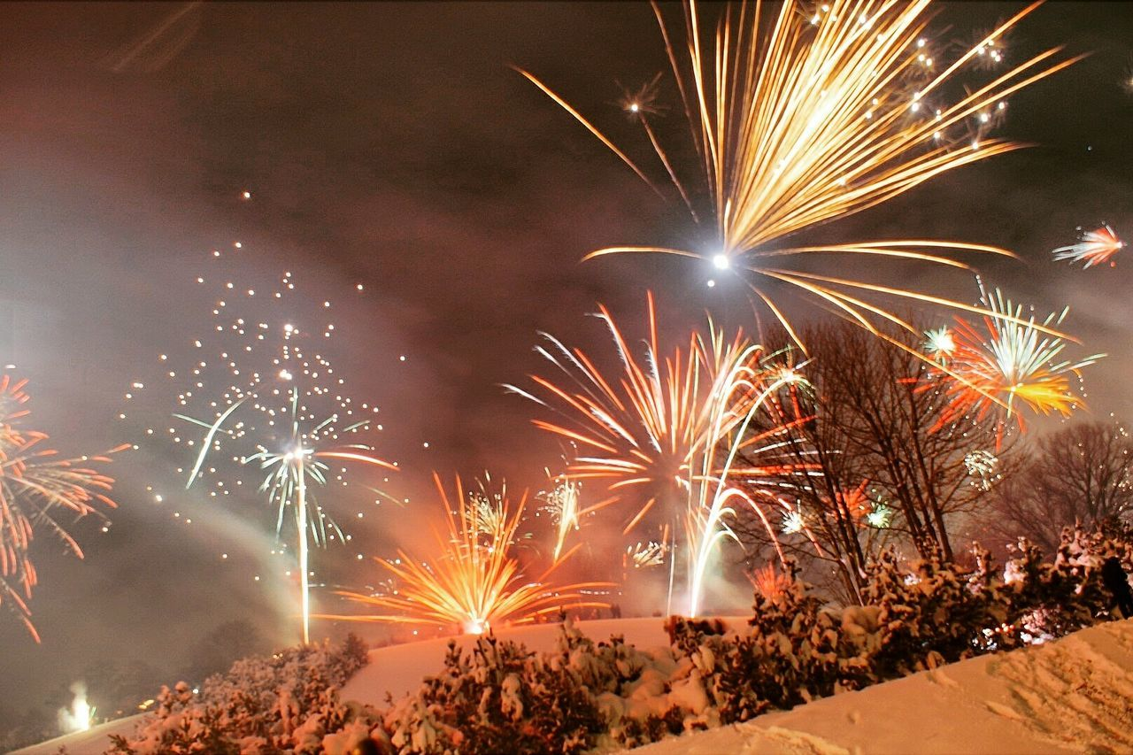 Beautiful stock photos of fireworks, Arts Culture And Entertainment, Celebration, Celebration Event, Cold Temperature