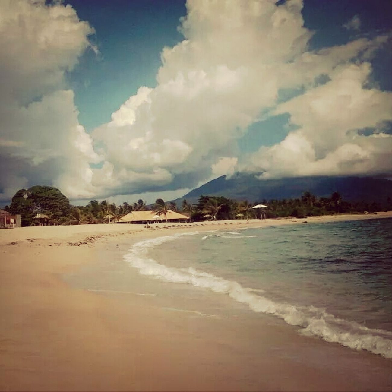 laguna beach Indonesia Scenery Bandar Lampung Beachtimefun Taking Photos #cloudporn