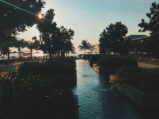 Sunrise Sun Hotel Resort Hyatt Hyatt Regency VSCO Vscocam Vscogood Vacation Showcase March Da Nang Chilling Relaxing Good Morning Nice Atmosphere Walking Around