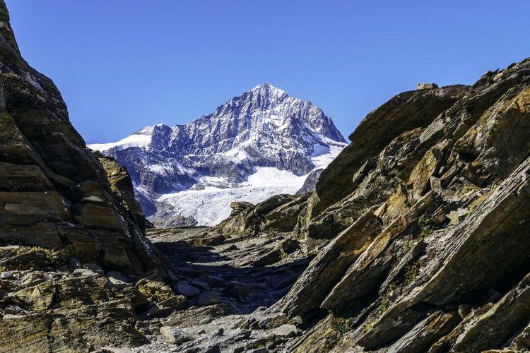 Glacier Nature Traveling Landscape Snow Mountain Matterhorn  Mountain View Hiking
