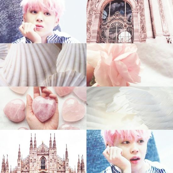 Beauty Collage Adult Looking At Camera One Person People Day Pink Pink Color Love Kpop JIMIN BTS Afrodite God Greece Mithology